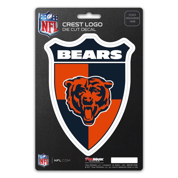 Picture of NFL - Chicago Bears Shield Decal