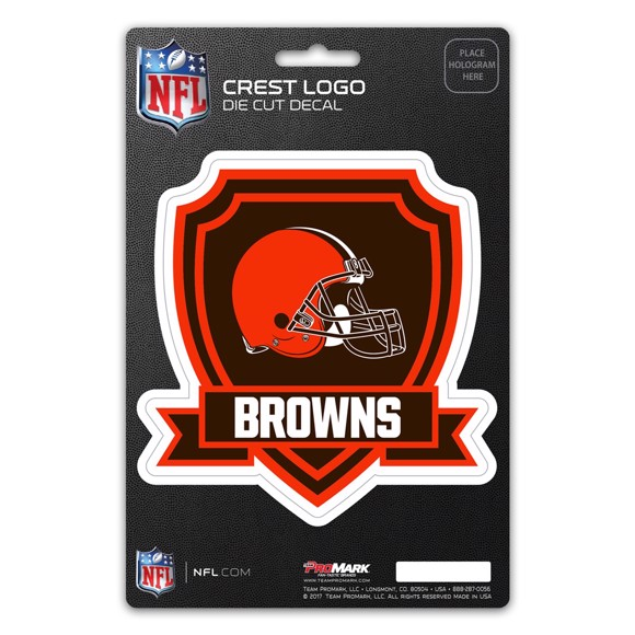 Picture of NFL - Cleveland Browns Shield Decal
