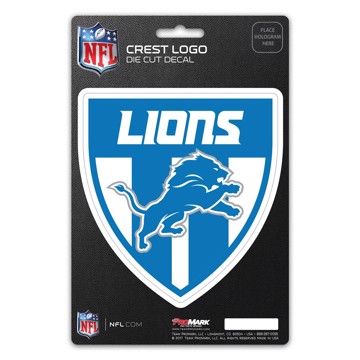 Picture of NFL - Detroit Lions Shield Decal