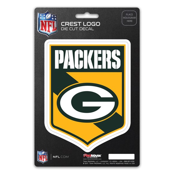 Picture of NFL - Green Bay Packers Shield Decal