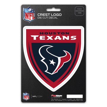 Picture of NFL - Houston Texans Shield Decal