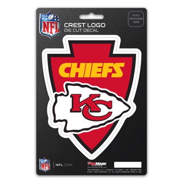 Picture of NFL - Kansas City Chiefs Shield Decal
