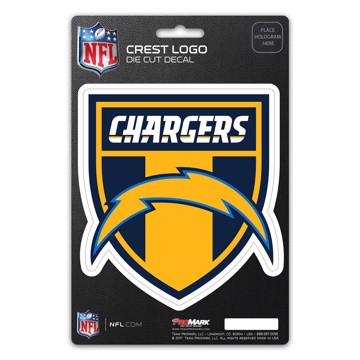 Picture of NFL - Los Angeles Chargers Shield Decal