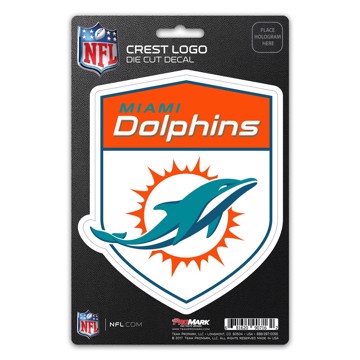 Picture of NFL - Miami Dolphins Shield Decal