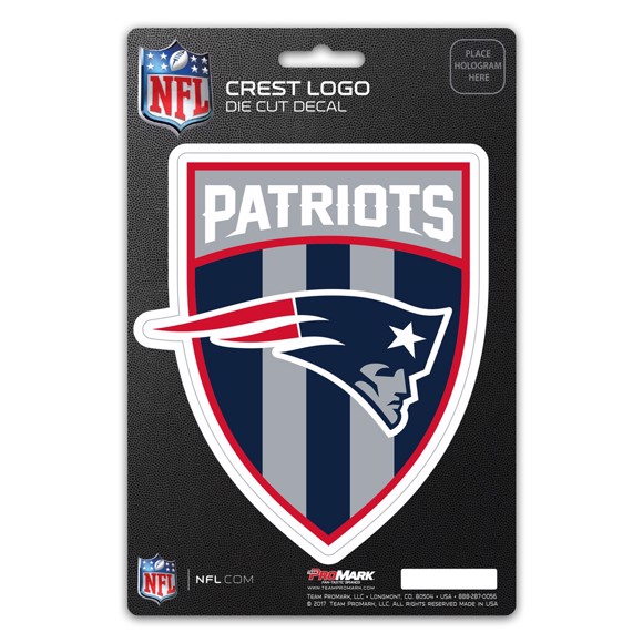 Picture of NFL - New England Patriots Shield Decal