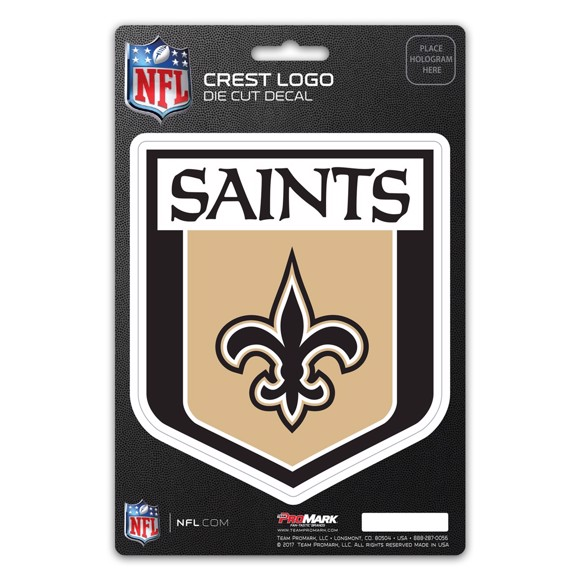 Picture of NFL - New Orleans Saints Shield Decal
