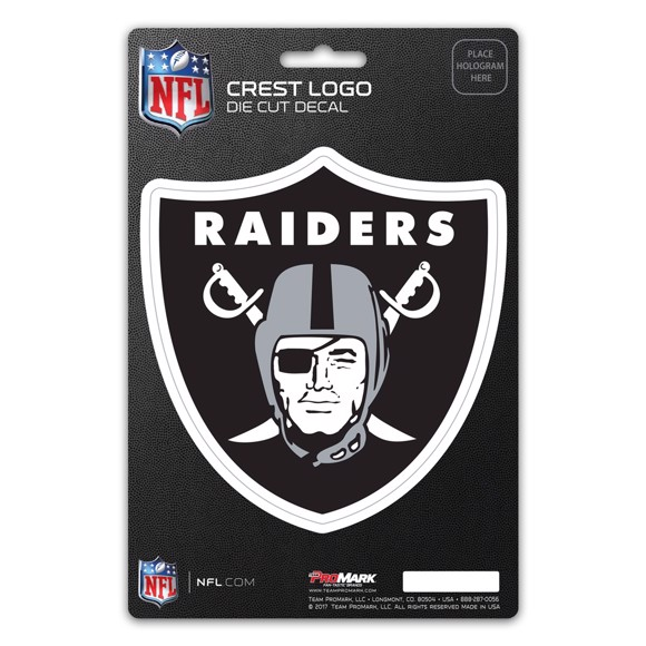 Picture of NFL - Las Vegas Raiders Shield Decal
