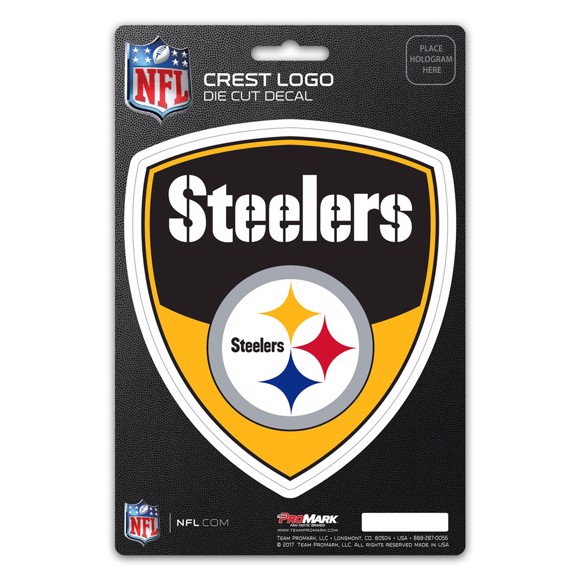 Picture of NFL - Pittsburgh Steelers Shield Decal