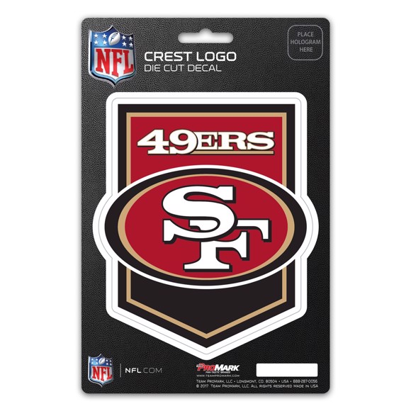 Picture of NFL - San Francisco 49ers Shield Decal