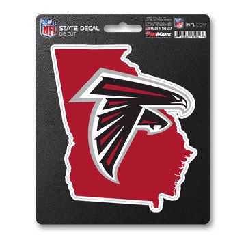Picture of NFL - Atlanta Falcons State Shape Decal