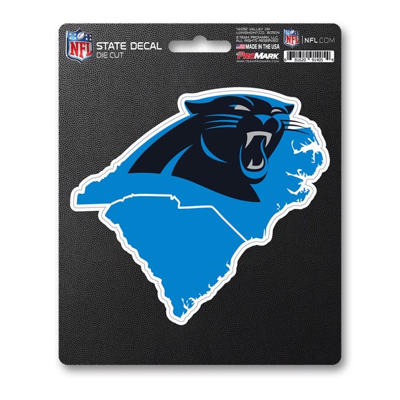 Picture of NFL - Carolina Panthers State Shape Decal