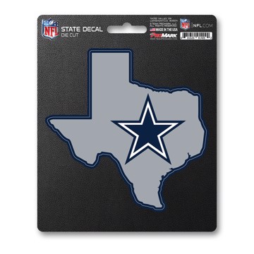 Picture of NFL - Dallas Cowboys State Shape Decal