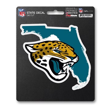 Picture of NFL - Jacksonville Jaguars State Shape Decal