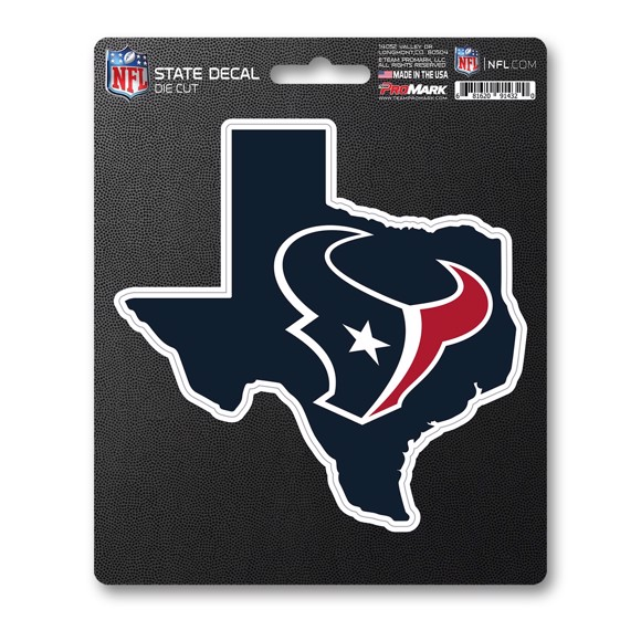 Picture of NFL - Houston Texans State Shape Decal