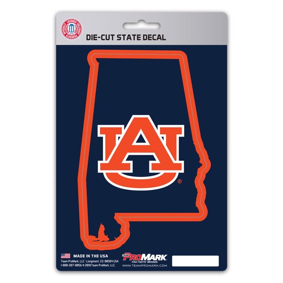 Picture of Auburn State Shape Decal