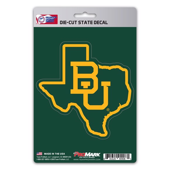Picture of Baylor State Shape Decal