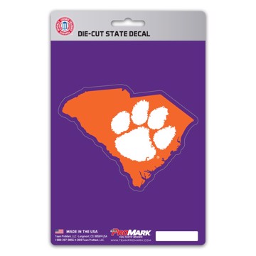 Picture of Clemson State Shape Decal