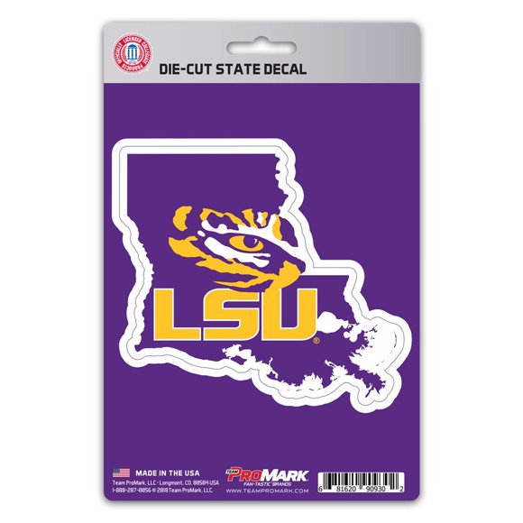 Picture of LSU State Shape Decal