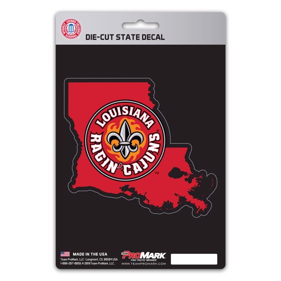 Picture of Louisiana-Lafayette State Shape Decal