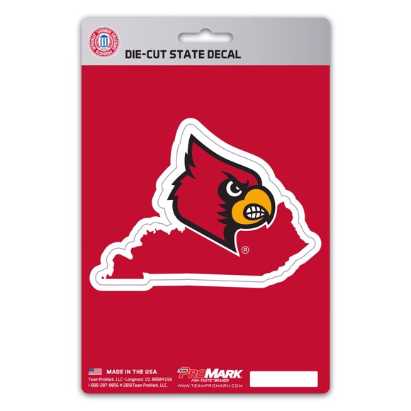 Picture of Louisville State Shape Decal