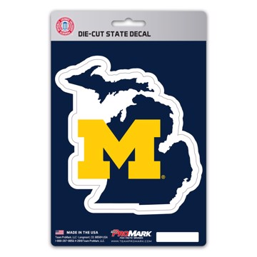 Picture of Michigan State Shape Decal