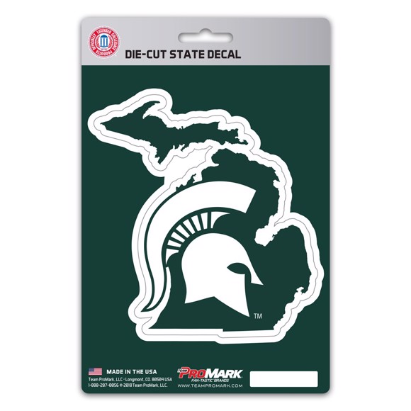 Picture of Michigan State State Shape Decal