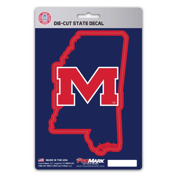 Picture of Ole Miss State Shape Decal