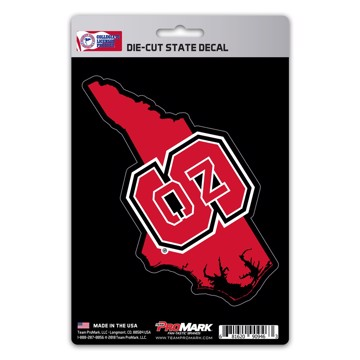 Picture of NC State State Shape Decal