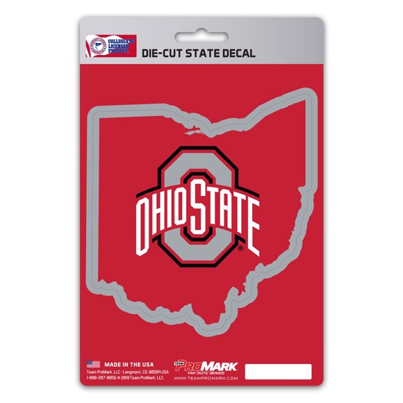 Picture of Ohio State State Shape Decal