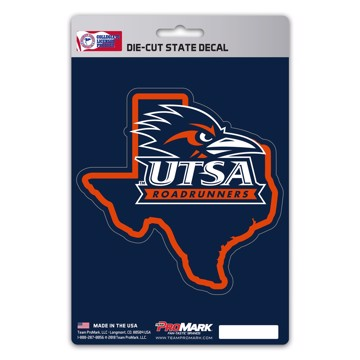 Picture of UTSA State Shape Decal