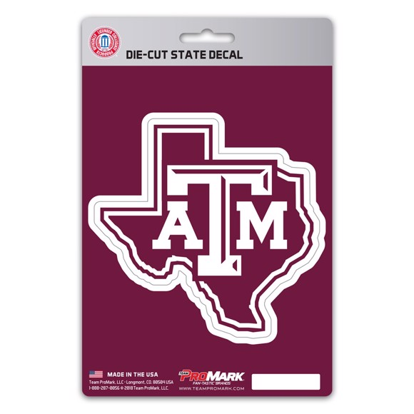 Picture of Texas A&M State Shape Decal