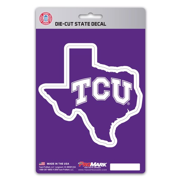 Picture of TCU State Shape Decal