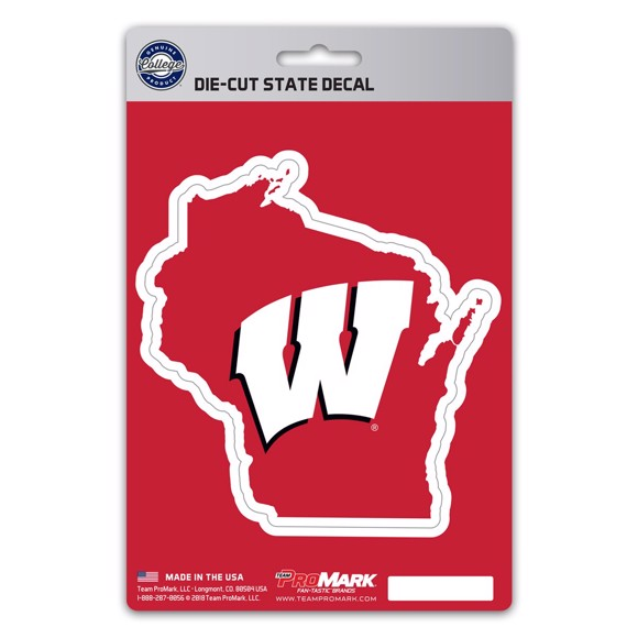 Picture of Wisconsin State Shape Decal