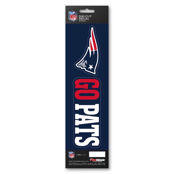 Picture of NFL - New England Patriots Team Slogan Decal