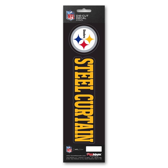 Picture of NFL - Pittsburgh Steelers Team Slogan Decal