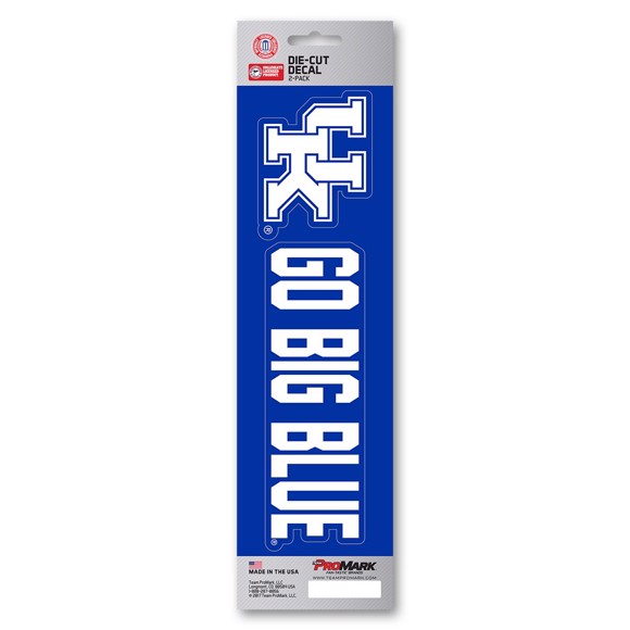 Picture of Kentucky Team Slogan Decal