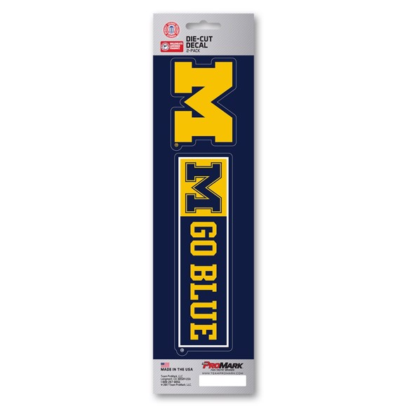 Picture of Michigan Team Slogan Decal