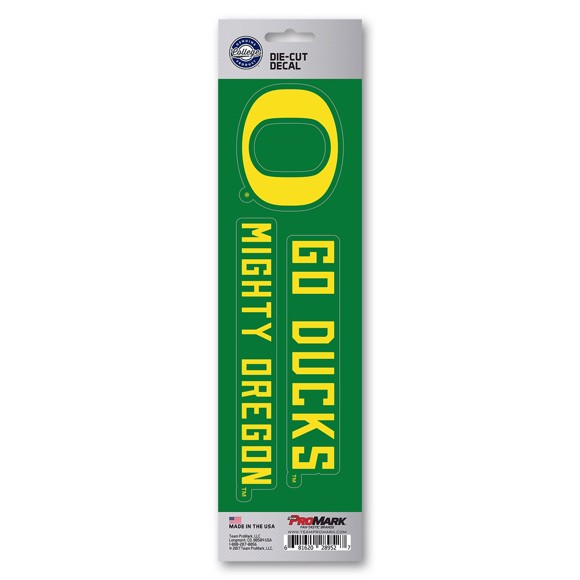 Picture of Oregon Team Slogan Decal