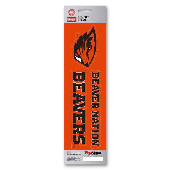 Picture of Oregon State Team Slogan Decal