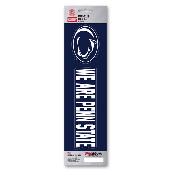 Picture of Penn State Team Slogan Decal