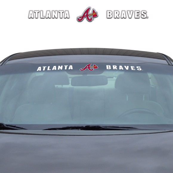 Picture of MLB - Atlanta Braves Windshield Decal