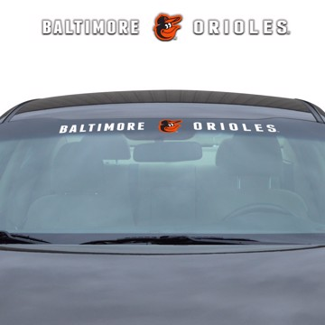Picture of MLB - Baltimore Orioles Windshield Decal
