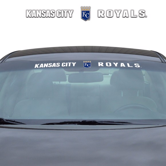 Picture of MLB - Kansas City Royals Windshield Decal
