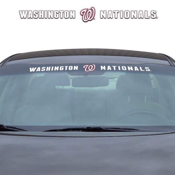 Picture of MLB - Washington Nationals Windshield Decal