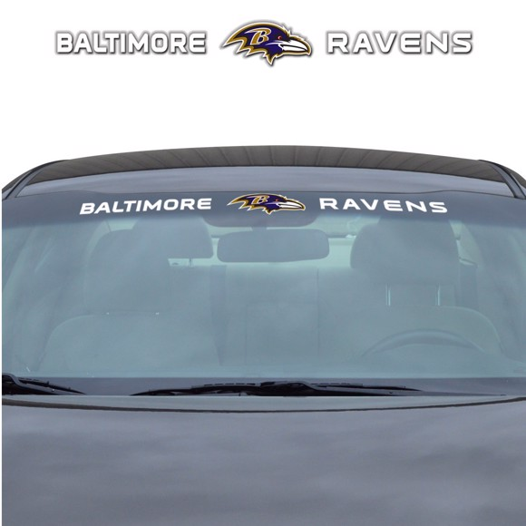 Picture of NFL - Baltimore Ravens Windshield Decal