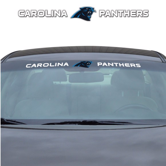 Picture of NFL - Carolina Panthers Windshield Decal