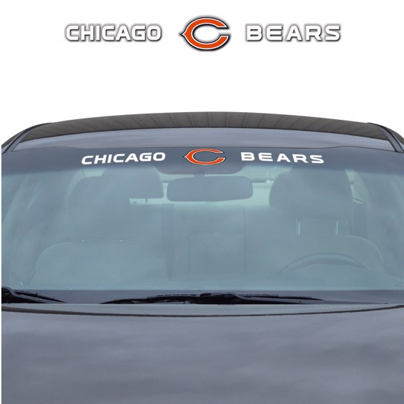 Picture of NFL - Chicago Bears Windshield Decal