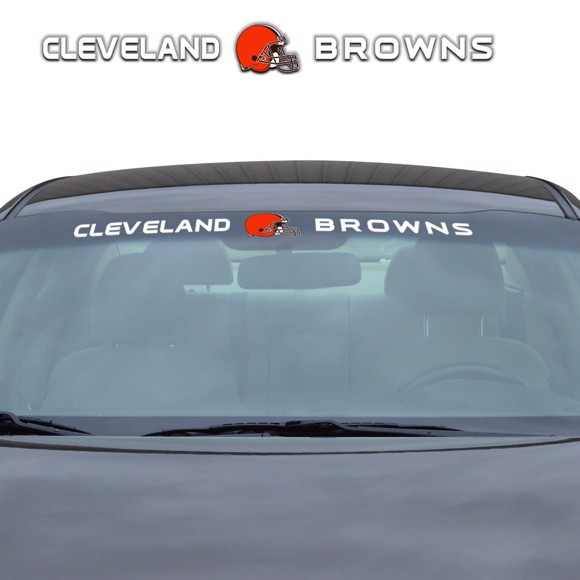 Picture of NFL - Cleveland Browns Windshield Decal