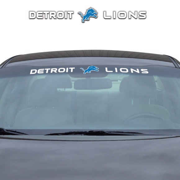 Picture of NFL - Detroit Lions Windshield Decal