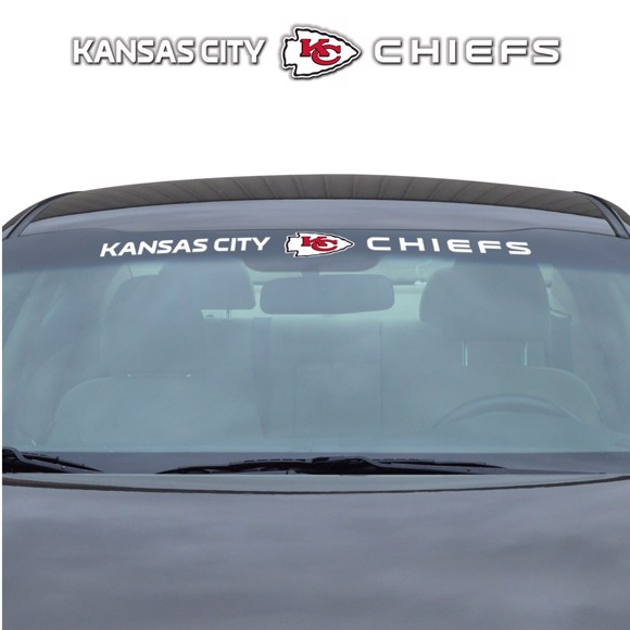 Picture of NFL - Kansas City Chiefs Windshield Decal
